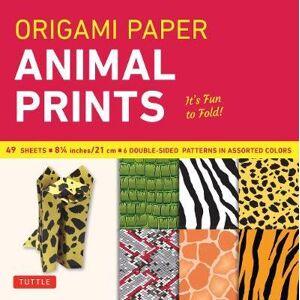 "Tuttle Publishing Origami Paper - Animal Prints - 8 1/4"" - 49 by Tuttle Publishing"