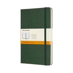 Moleskine Large Ruled Hardcover Notebook: Myrtle Green by Moleskine
