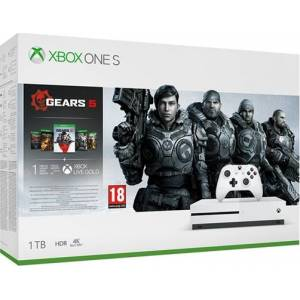 Microsoft Xbox One X 1TB  USK 18 incl Gear 5 + GoW Collection