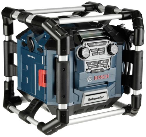 Bosch GML 20 PowerBox job site radio