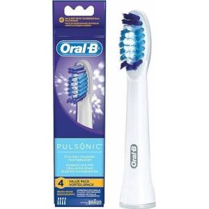 Braun Oral-B extra brushes Pulsonic 4-parts
