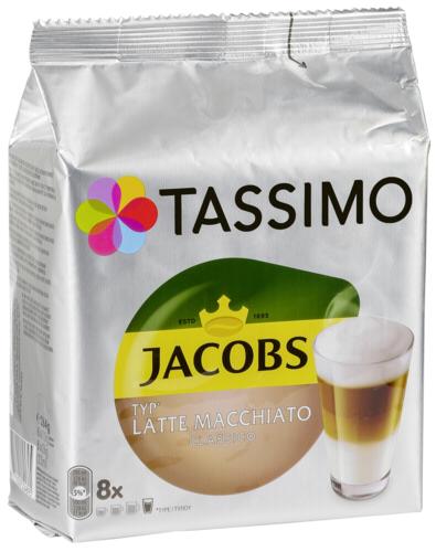Bosch Jacobs Latte Macchiato Classico 8 T-Discs