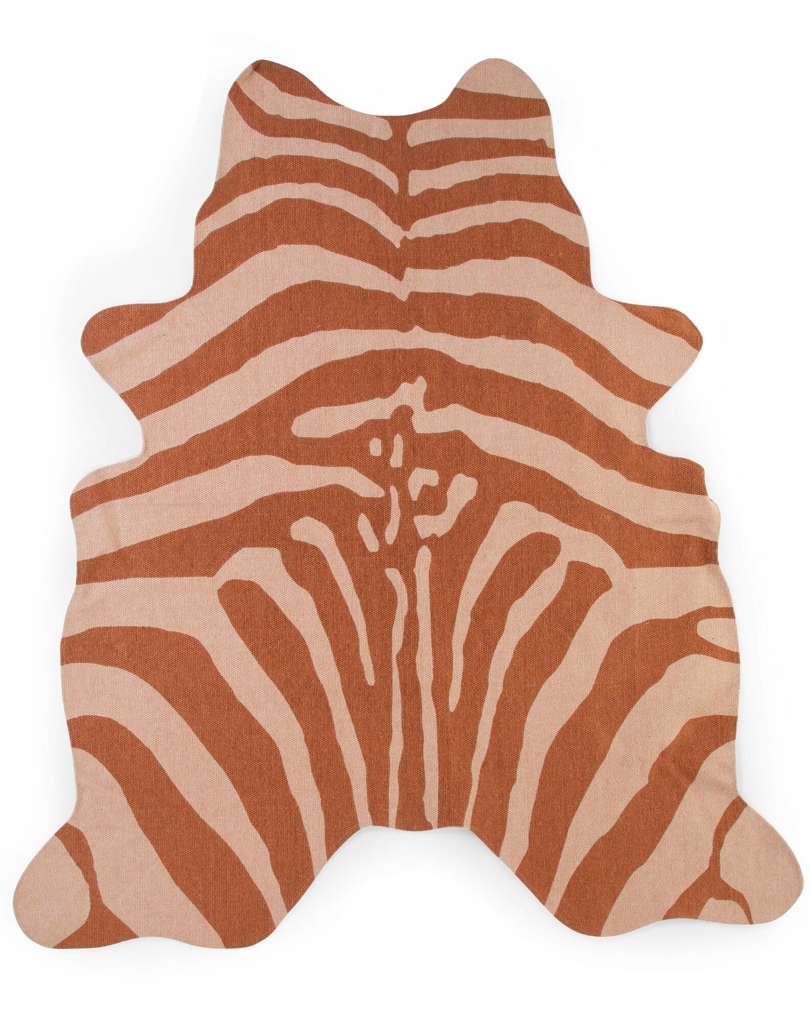 CHILDHOME Χαλί Childhome Zebra Carpet Nude 145*160cm