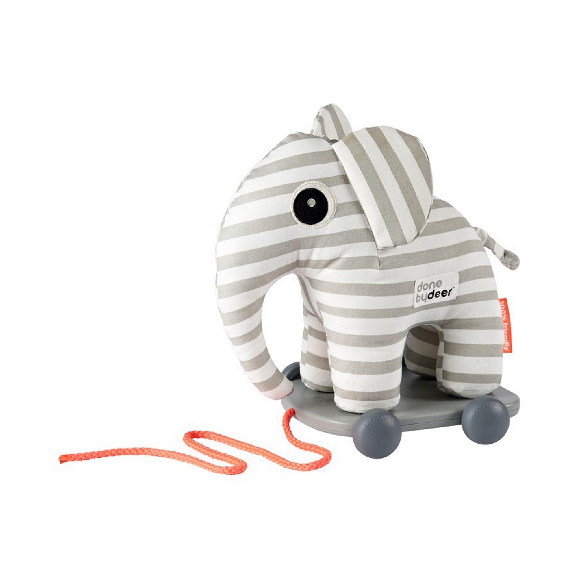 DONE BY DEER Tροχήλατο Παιχνίδι Done By Deer Ελέφαντας