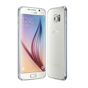 Samsung Galaxy S6 G920F (128GB) White EU  - Πληρωμή και σε 3 έως 36 δόσεις