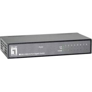 LevelOne Level One GEU-0822 8 Port Gigabit Ethernet Switch  - Πληρωμή και σε 3 έως 36 δόσεις