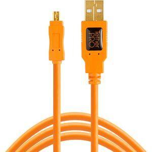 Tether Tools TetherPro USB 2.0 A to Mini-B 8 pin 15 ORG  - Πληρωμή και σε 3 έως 36 δόσεις