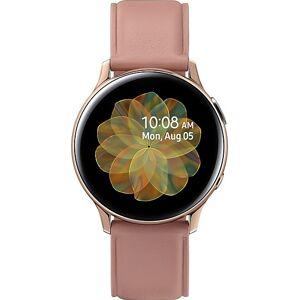 Samsung Galaxy Watch Active2 Stainless Steel 40mm (Gold)      - Πληρωμή και σε 3 έως 36 δόσεις