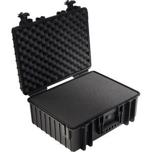 B&W International Type 6000 black incl. pre-cut foam  - Πληρωμή και σε 3 έως 36 δόσεις