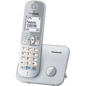 Panasonic ΑΣΥΡΜΑΤΟ ΤΗΛΕΦΩΝΟ PANASONIC KX-TG6811 silver  - Πληρωμή και σε 3 έως 36 δόσεις