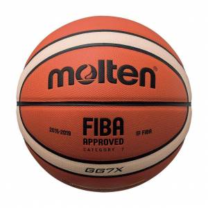 MOLTEN FIBA APPROVED INDOOR SIZE7 BGG7X Πορτοκαλί
