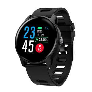 """ΙΝΤΙΜΕ Smartwatch S08, 1.3"""" έγχρωμο, IP68, HR & Blood pressure, μαύρο - INTIME 27211 INTIME"""