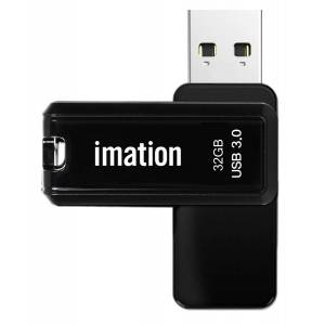 Imation USB Flash Drive Nano Pro II KR03020006, 32GB, USB 3.0, μαύρο - IMATION 27600 IMATION
