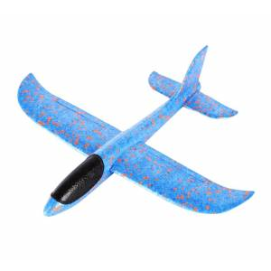 Συναρμολογούμενο αεροπλάνο από φελιζόλ AIR-003, 35x30cm, μπλε - UNBRANDED 26070 UNBRANDED