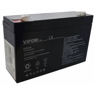 Μπαταρία για UPS Vipow LP12-6 (6V 12 Ah) 1.97 kg 150mm x 50mm x 94mm Motoma