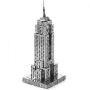 """Μίνι Τρισδιάστατο Μεταλλικό Πάζλ """"Empire State Building"""" OEM 3261"""