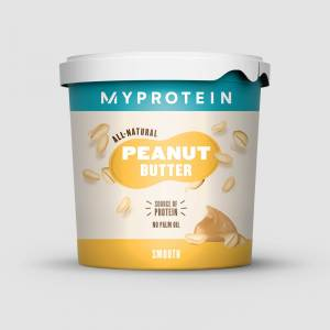 Myprotein Φυσικό Φυστικοβούτυρο - 1kg - Αυθεντική - Απαλή