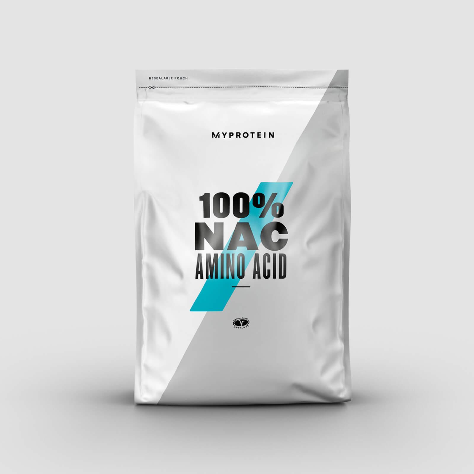 Myprotein 100% Αμινοξύ NAC (N-Ακετυλο-L-Κυστεΐνη) - 100g - Χωρίς Γεύση