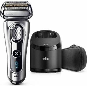 Braun Electric Shaver, Series 9 9290cc Men's Electric Razor / Electric Foil Shaver, Wet & Dry, Travel Case with Clean & Charge System  - Πληρωμή και σε έως 36 δόσεις