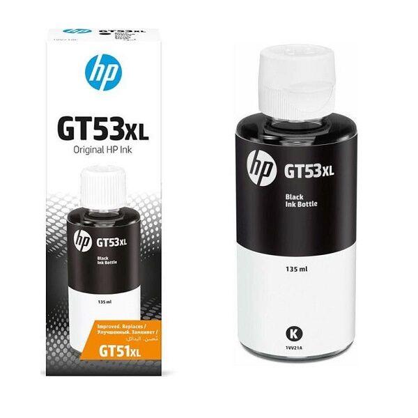 HP GT53XL 135ml Black Original Ink Bottle 1VV21AE