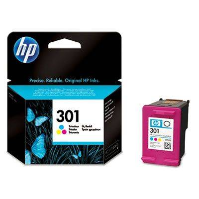 HP 301 Ink Tri-Color 165Pgs CH562EE