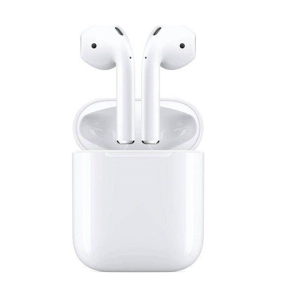 Apple AirPods 2 (2019) White Eu ακουστικά με ασύρματη θήκη φόρτισης (MRXJ2ZM/A) - Πληρωμή και σε εως 12 δόσεις