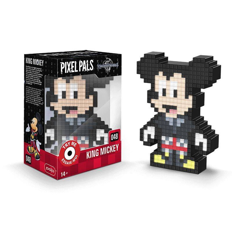 PDP Pixel Pals Kindom Hearts King Mickey