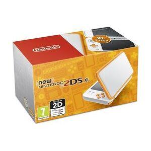 Nintendo New Nintendo 2DS XL white orange