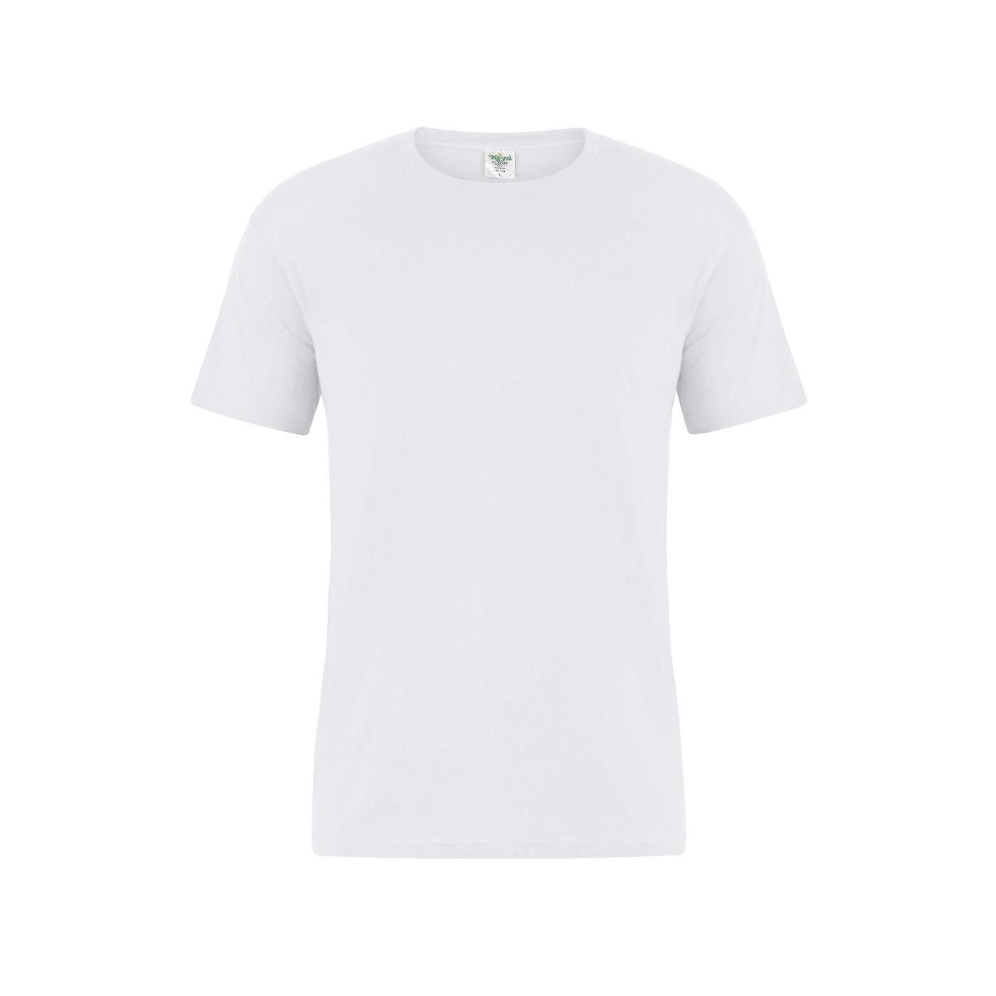 Celestino Βαμβακερό ανδρικό T-shirt  - Λευκο - Grootte: Large