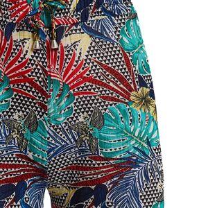 Celestino Παντελόνα σε τροπικό μοτίβο  - Πρασινο - Grootte: Small