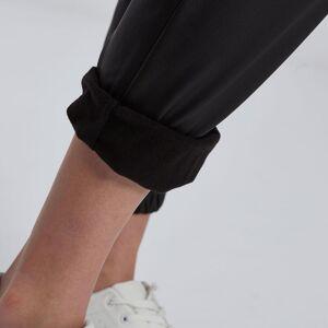 Celestino Παντελόνι δερματίνης με τσέπες  - Μαυρο - Grootte: Small