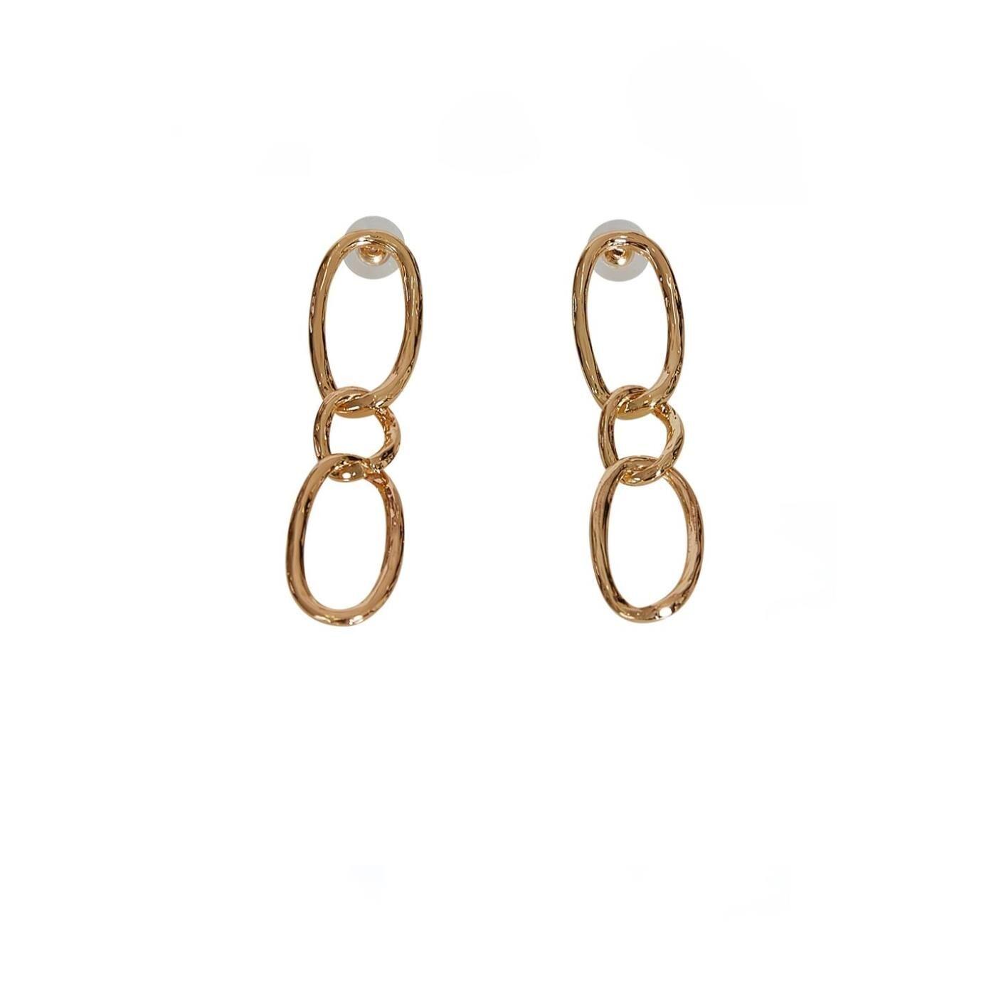 Celestino Κρεμαστά σκουλαρίκια  - Χρυσαφι - Grootte: One Size