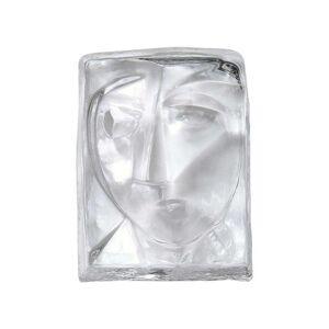 Espiel Διακοσμητικά Πρόσωπα ICE206 Διάφανο 12x9x4cm Espiel  Γυαλί
