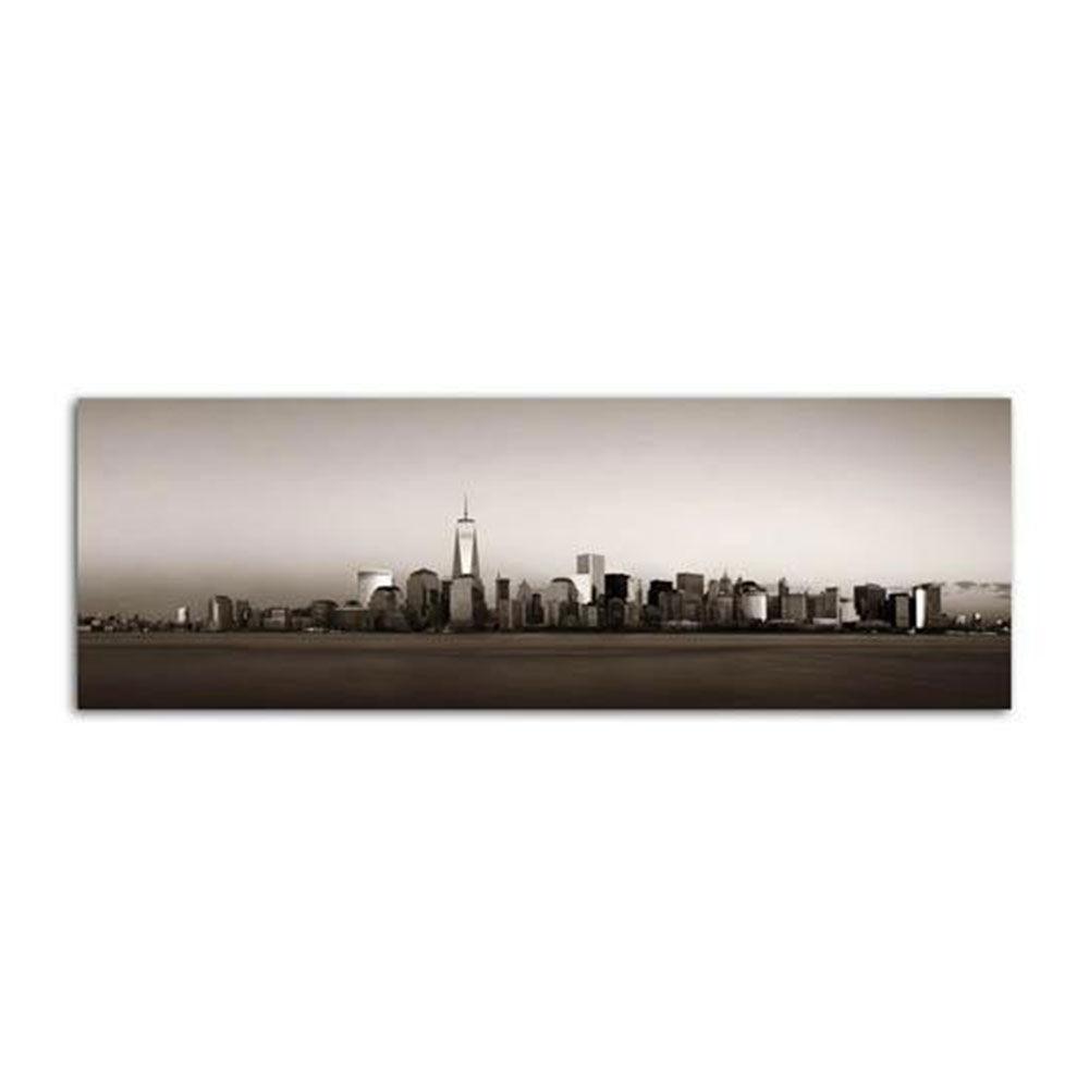 Ankor Πίνακας Καμβάς 796618 120x40 Grey Ankor Πανοραμικοί Καμβάς