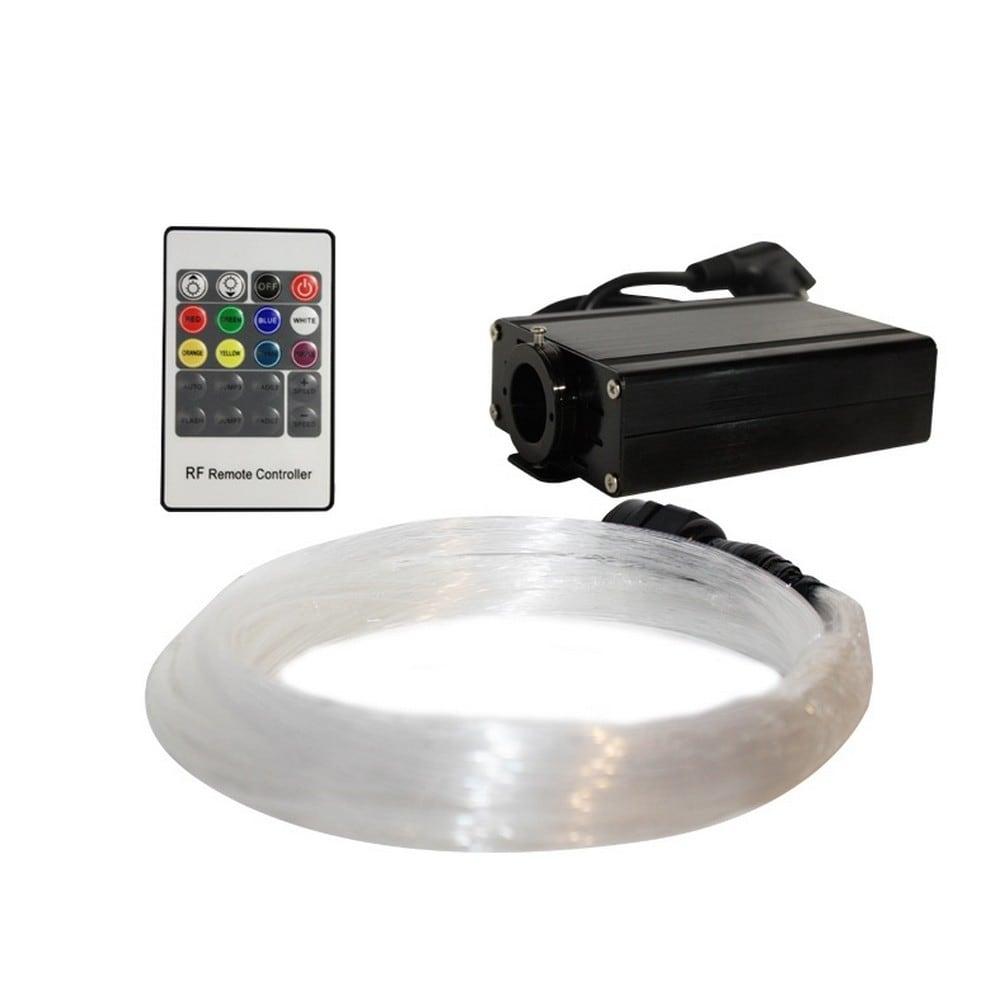 Aca Οπτική Ίνα Με 100 Απολήξεις Και Remote Control Fib01 16W RGB Aca