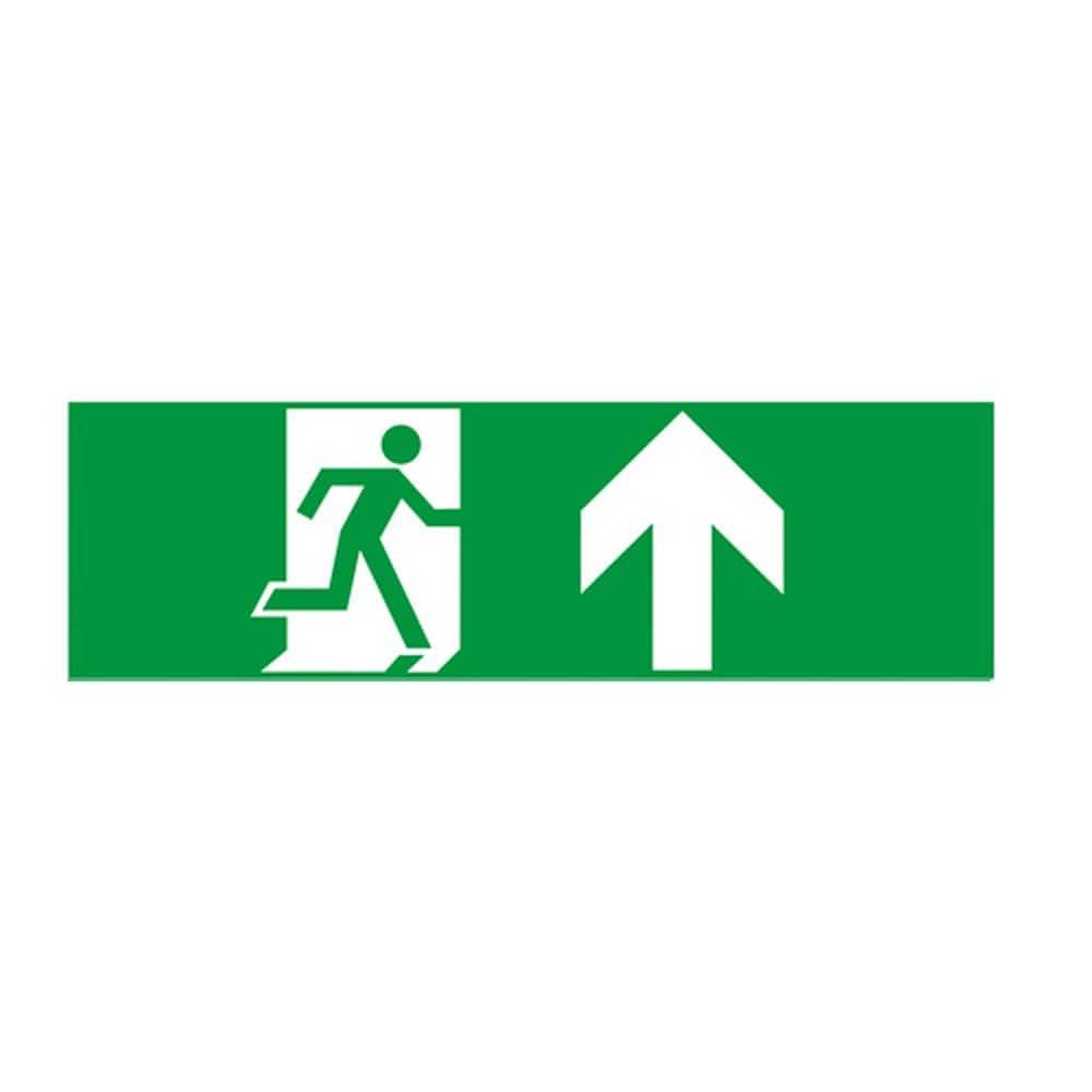 Aca Αυτοκόλλητα Σήματα Για Φωτιστικό Ασφαλείας Hap1 Βέλος Επάνω 60x200 Aca