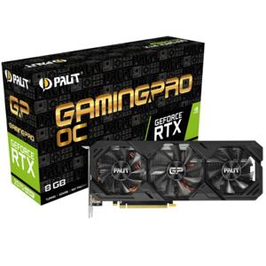 Palit Κάρτα γραφικών Palit GeForce ( NE6207ST19P2-180T) RTX 2070 SUPER GP OC - 8GB GDDR6, HDMI, 3x DP