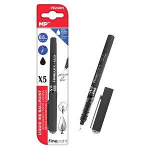 MP στυλό διαρκείας, καλλιγραφίας PE240N, 0.5mm, μαύρο- MP