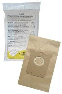 AEG Electrolux S-Bag σακούλες σκόνης (10 σακούλες, 1 φίλτρο)