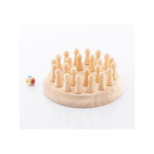 InnovaGoods Ξύλινο Παιδικό Σκάκι Μνήμης 26 τμχ Taeda InnovaGoods V0101251