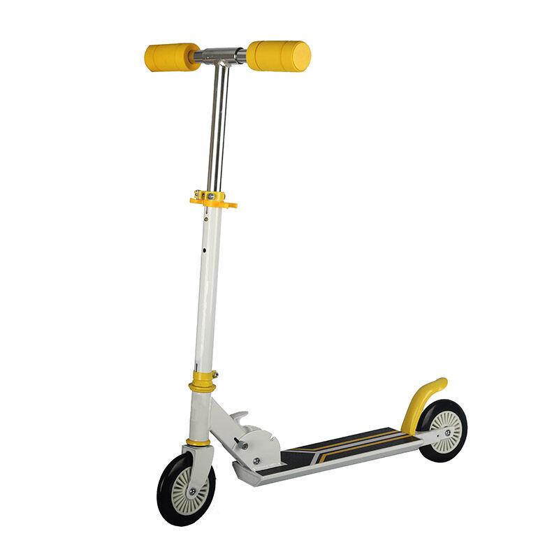 Gem Αναδιπλούμενο Παιδικό Δίτροχο Πατίνι Scooter Χρώματος Κίτρινο GEM BN2016