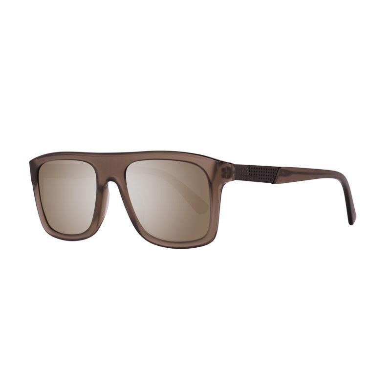 Diesel Unisex Γυαλιά Ηλίου με Πλαστικό Σκελετό και Φακούς Καθρέπτη Χρώματος Καφέ Diesel DL026845C52