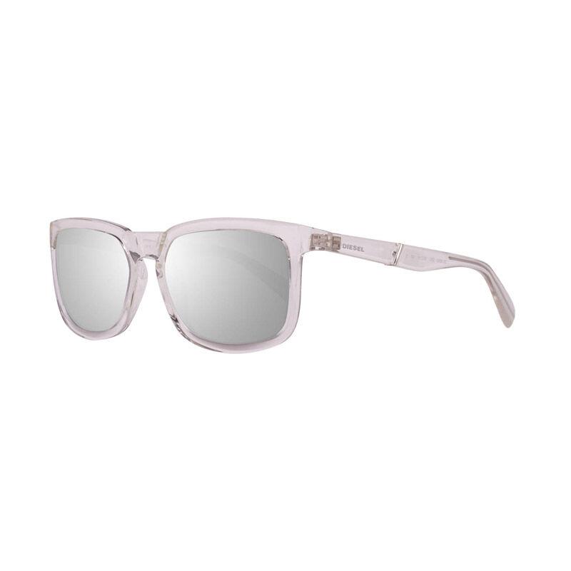 Diesel Γυναικεία Γυαλιά Ηλίου με Πλαστικό Σκελετό και Φακούς Καθρέπτη Χρώματος Ασημί Diesel DL026226C56
