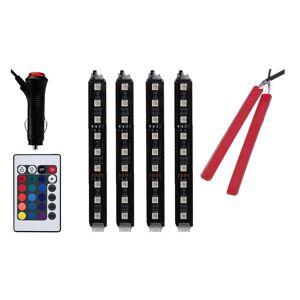GloBrite Σύστημα Εσωτερικού LED Φωτισμού Αυτοκινήτου με Τηλεχειριστήριο GloBrite VL3242