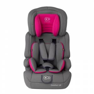 KinderKraft Παιδικό Κάθισμα Αυτοκινήτου Χρώματος Ροζ για Παιδιά 9-36 Kg KinderKraft Comfort Up