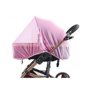 SPM Κουνουπιέρα Καροτσιού 75 x 70 x 0.5 cm Χρώματος Ροζ SPM DB5813