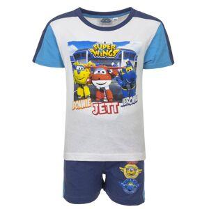 Disney Παιδικό Σετ Μπλούζα - Σορτς Χρώματος Μπλε Super Wings Disney QE1599