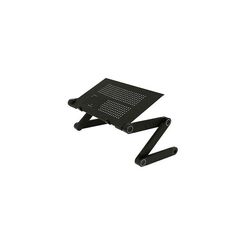 Gem Πτυσσόμενο Τραπεζάκι για Laptop GEM Χρώματος Μαύρο BN1038