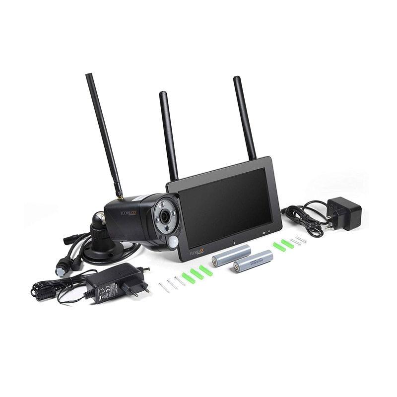 """Technaxx Σετ Κάμερα Παρακολούθησης με Οθόνη Αφής 7 """" Technaxx TX-128"""