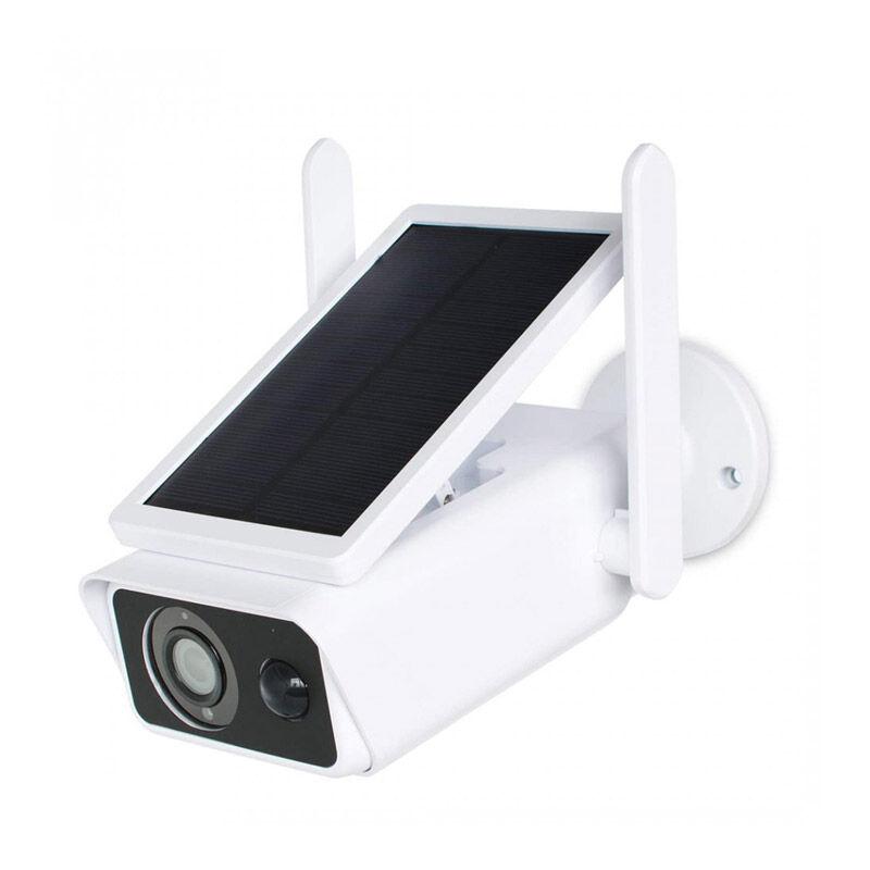 Media Wave Ηλιακή Ασύρματη Κάμερα Παρακολούθησης με WiFi 2MP IP66 CMOS MWS17607